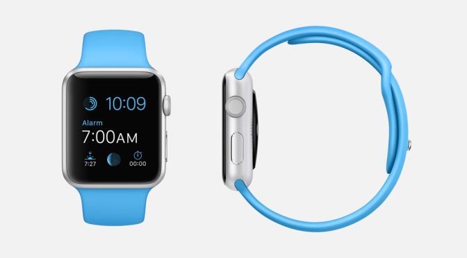 Nieuw horloge. Nieuw lettertype