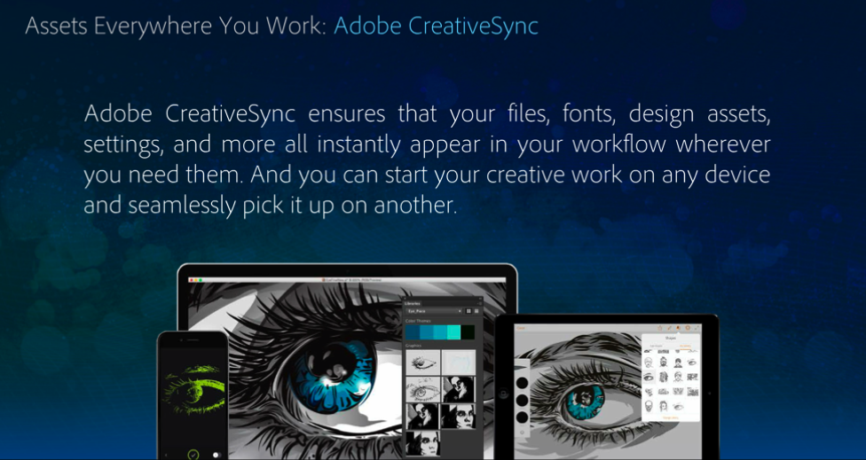Adobe CC 2015 - CreativeSync