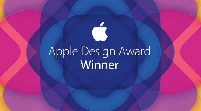 Newsflash: <p> Affinity Designer wint Apple Design Award </p>