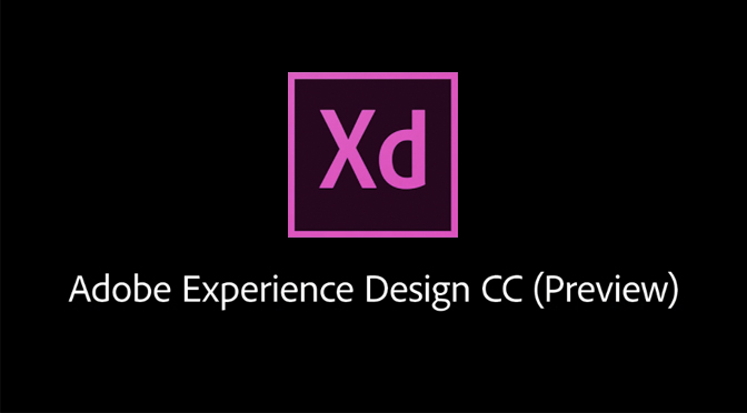 Adobe XD, nieuwe Experience Design applicatie