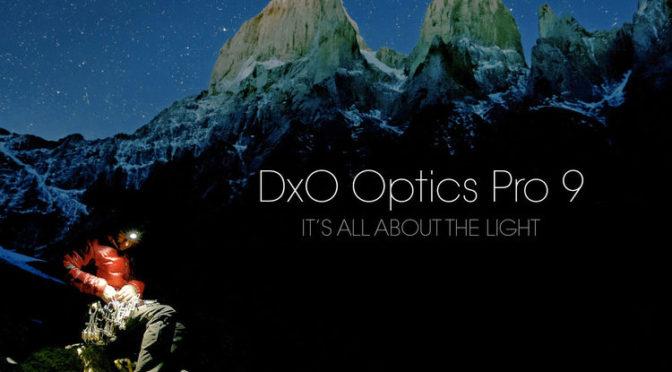 DxO OpticsPro 9 for free
