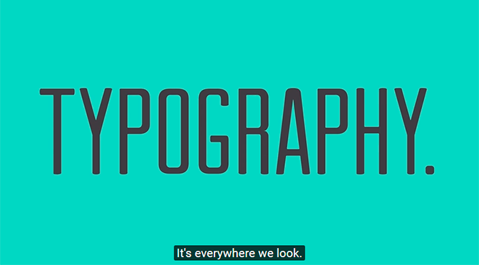 Typografie is overal