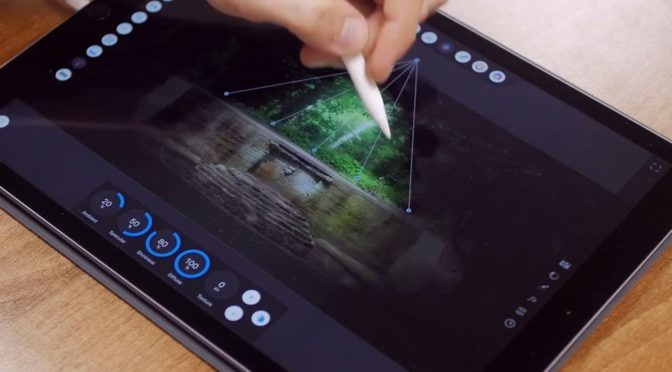 Affinity Photo voor iPad