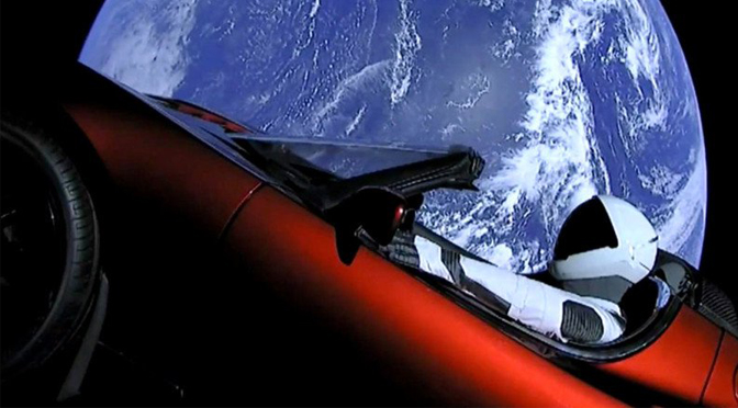De raket van Elon