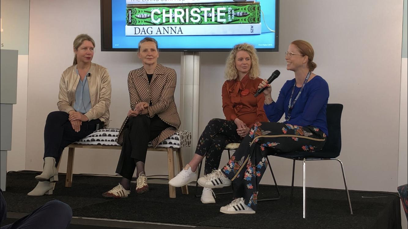 Jill Geens in panelgesprek op Pure Digital Show
