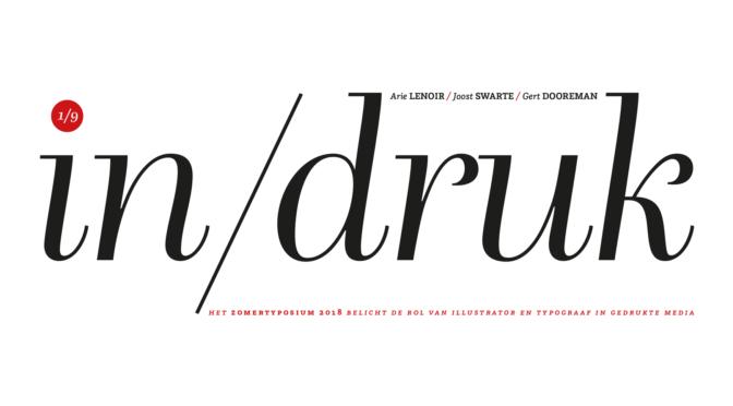 Initiaal Typosium 2018: De rol van typograaf en illustrator in gedrukte media.
