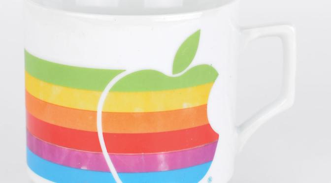 Te koop: een stukje Apple history