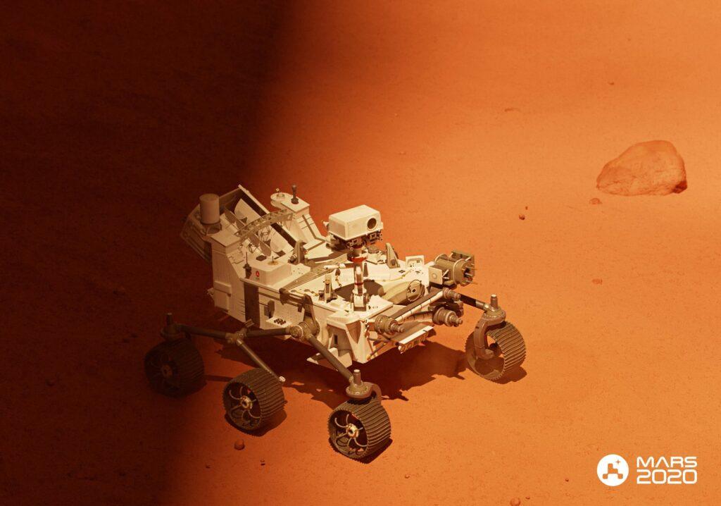 perceverance rover